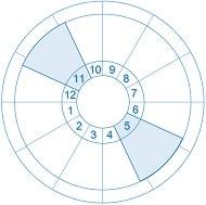 インターセプト 5と11ハウス-min