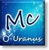MC 天王星 合 アスペクト